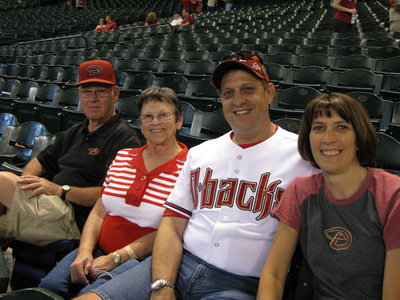 Opening Day Chase Field 2009