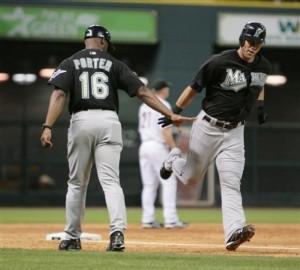 Marlins Astros Baseball