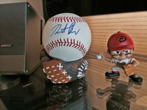 Heath Bell Autographed Baseball