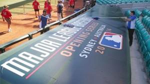Australia Baseball Dodgers Diamondbacks-3