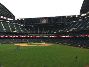 Chase Field March 28, 2014